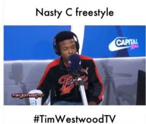 Nasty C - Wiggle (Freestyle)
